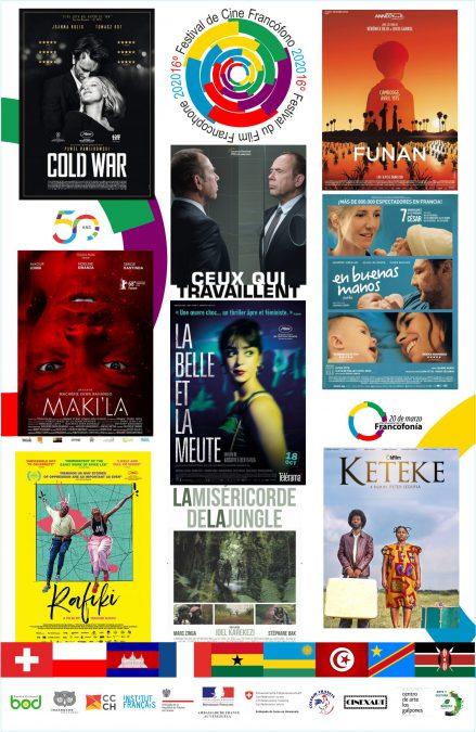 16º Festival de Cine Francófono 2020