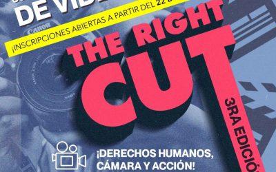 "Concurso The Right Cut 2020 ""Derechos humanos, cámara, ¡acción!"""