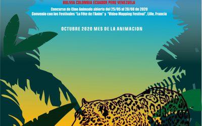 5to concurso andino de cine animado ANIMANDINO 2020