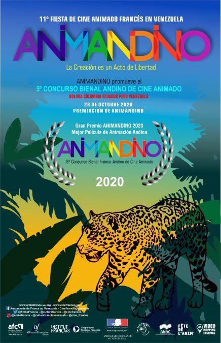 Palmarés del 5to concurso andino de cine animado ANIMANDINO 2020