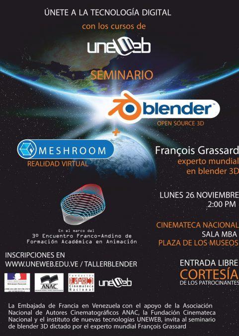 Seminario Blender & Meshroom