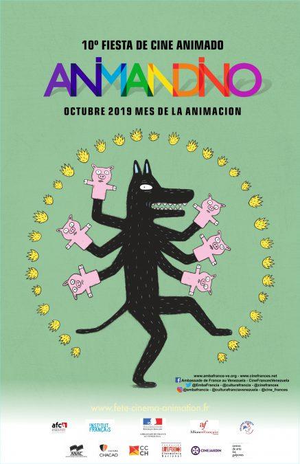 10º Festival de Cine Animado Animandino 2019